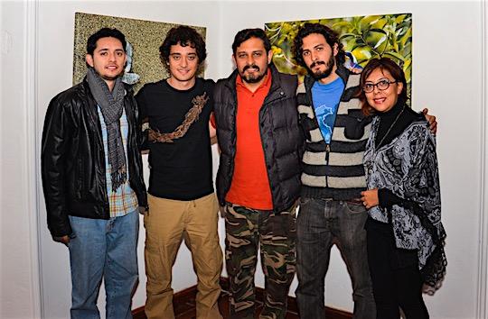 Alex, Fer, Douglas, Chris y Gaby