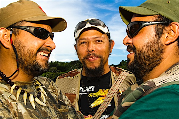 Douglas, Jerox y Sergio